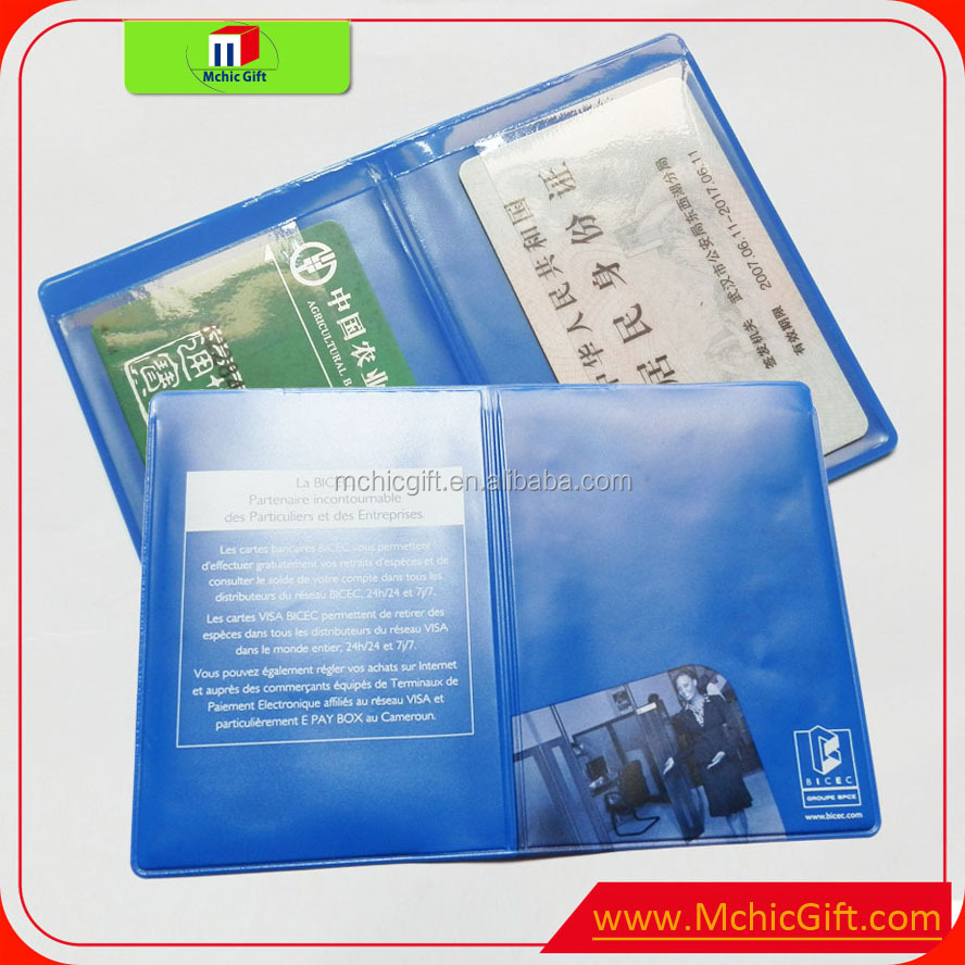 custom cheap weld soft pvc folding plastic card holder, View ...