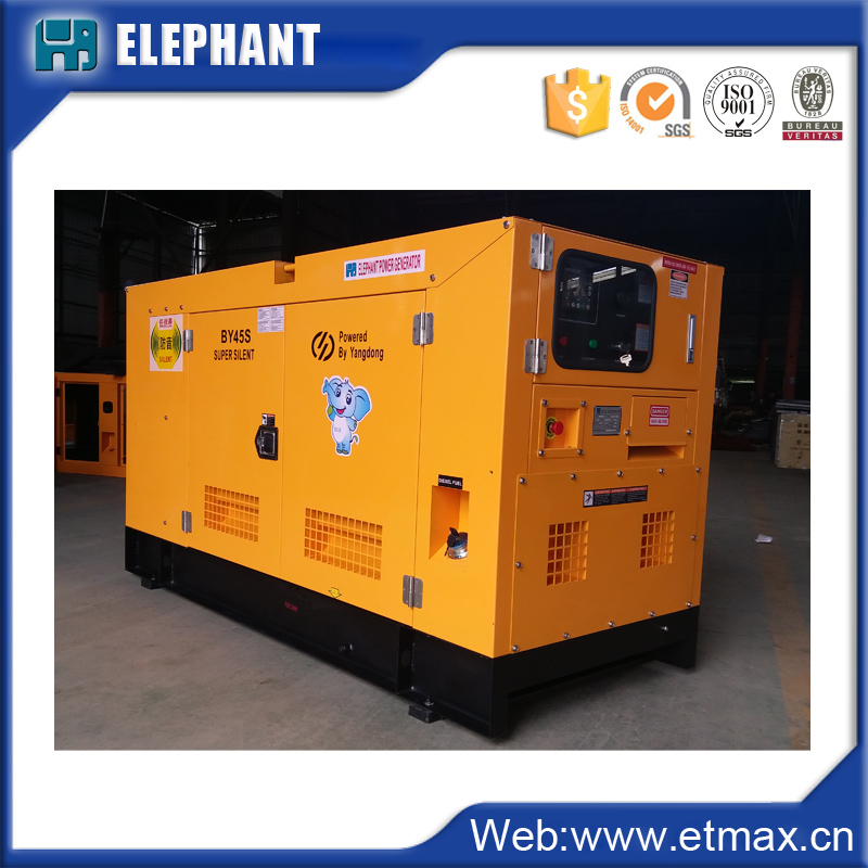 2017 New generators 40kva soundproof generating set diesel