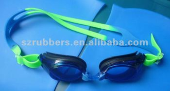 Fashionable Adult's Silicone Swim Goggle