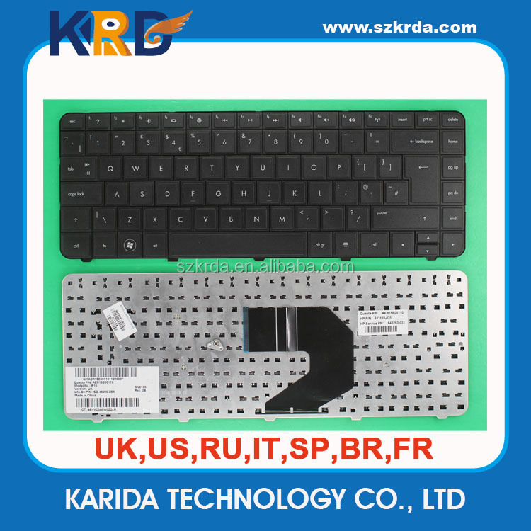 Replace for HP laptop keyboard G4 G6 CQ43 CQ57 G4-1000 US SP RU FR UK keyboard Factory price
