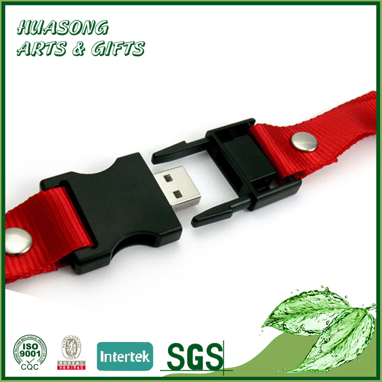 Promotional usb Flash Drive Lanyard With Logo