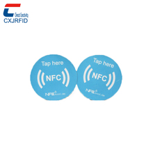 cheap price paper NTAG 213 rfid nfc tag for mobile phone