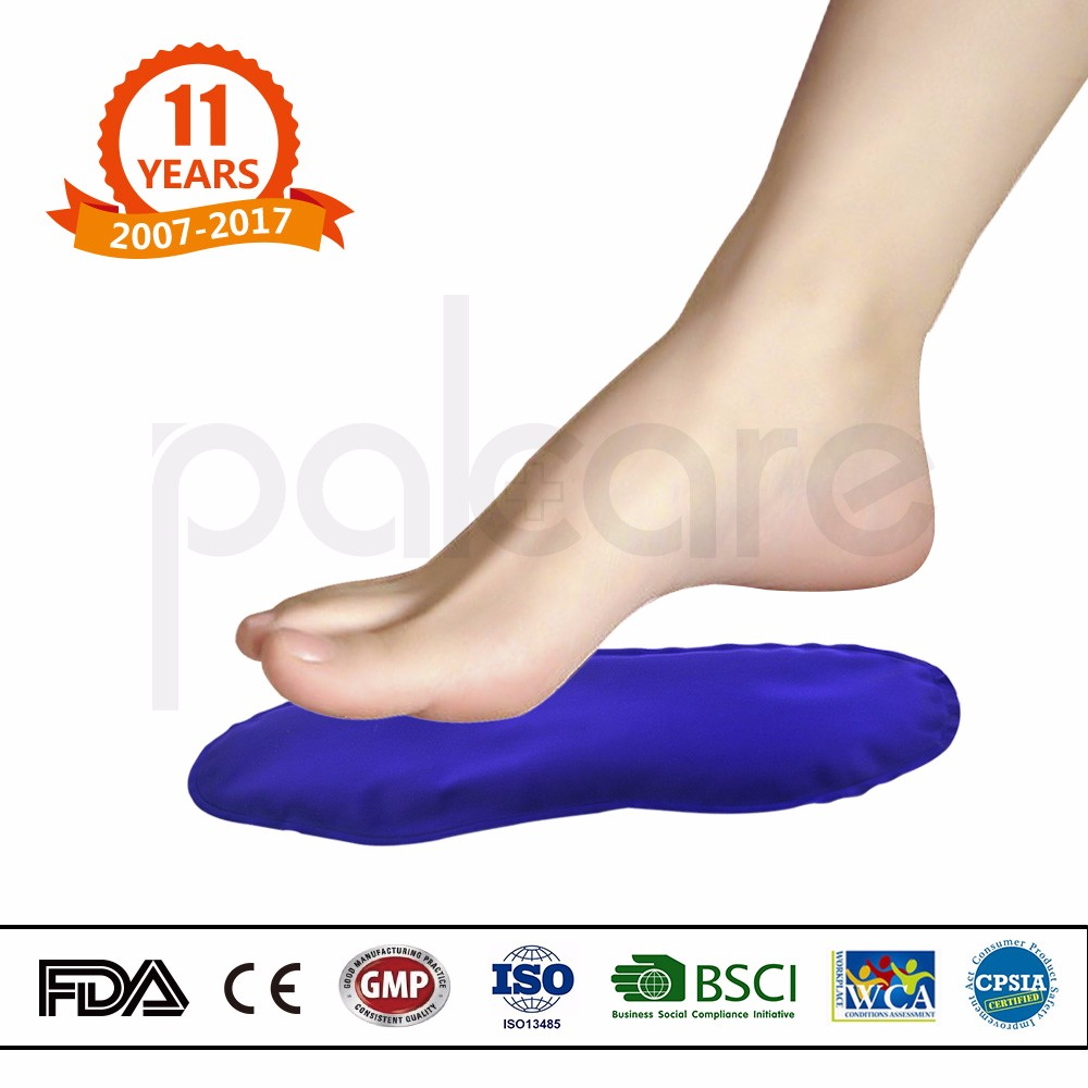 Nylon freezer bag medicalfreezer soft gel slipper hot cold pack ice pack