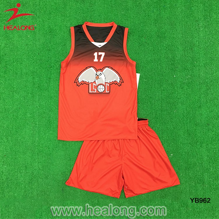 Fashion Reversible Youth Basketball Jerseys Shirts Clothing Design Cheap