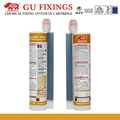 Adhesive anchoring system vinyl grout sealer glue