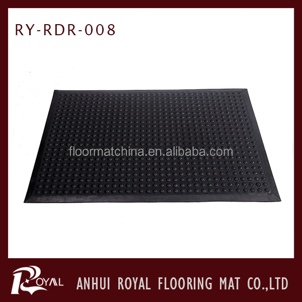 Waterproof Perforated Driveway Thin Rubber Mats