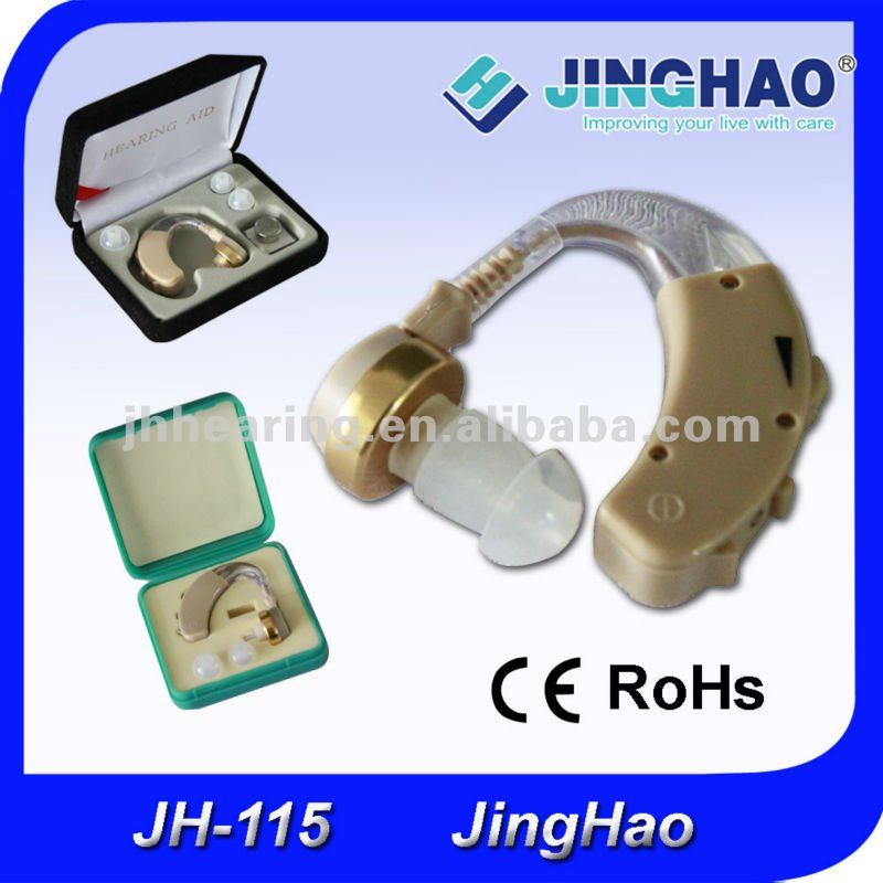 Cheap price invisible best external sound hearing aid JH-115