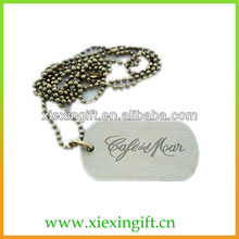 engraved steel jewelry tags