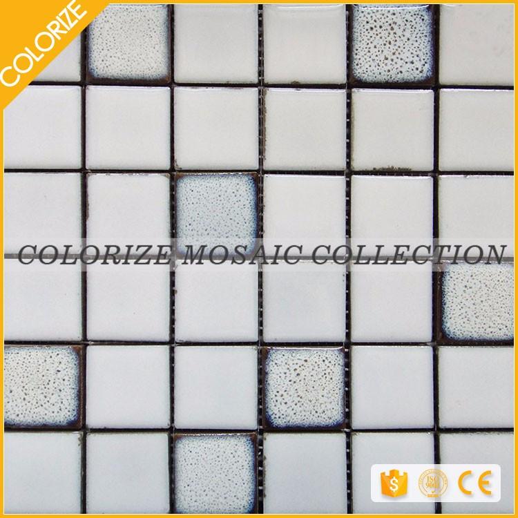 Standard ceramic tile sizes