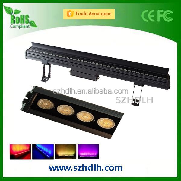 Manufacturer RGB dmx 512 led wall light 30/36/60W led wall washer light IP65 CE and ROHS listed
