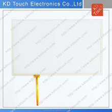 Competitve pricing high-transparency multi-touch 6 inch 5 wire resistive touch panel screen