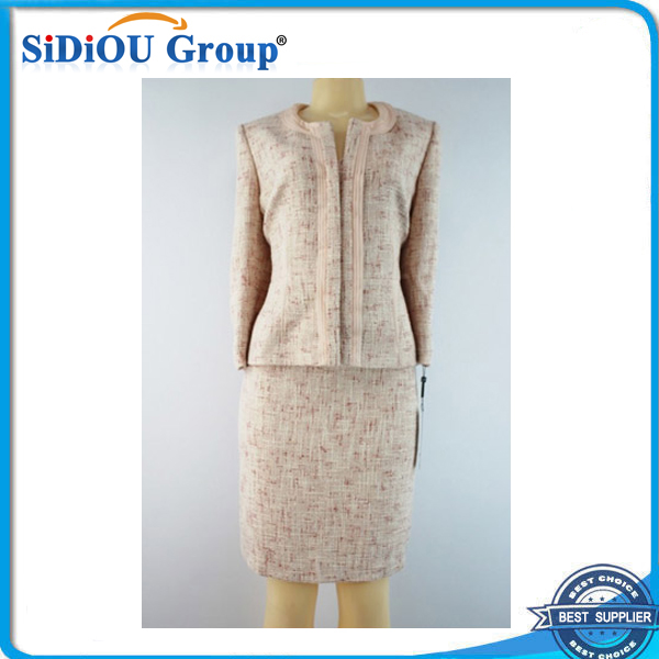 elegant ladies skirts suits fashion knit skirt suits