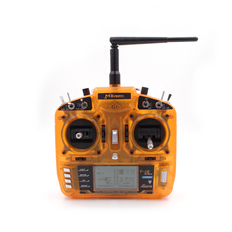 MKRON 2.4Ghz 8ch T-I8 Transmitter for rc Helicopter & Quadcopter