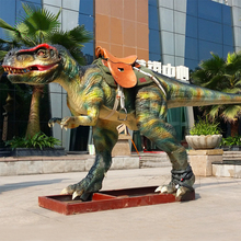 Newest design high quality animal kingdom dinosaur ride for kids play garden