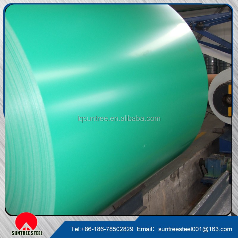 Shandong factory PPGI Coils, Color Coated Steel Coil, Prepainted Galvanized Steel Coil Z275/Metal Roofing Sheets Building M