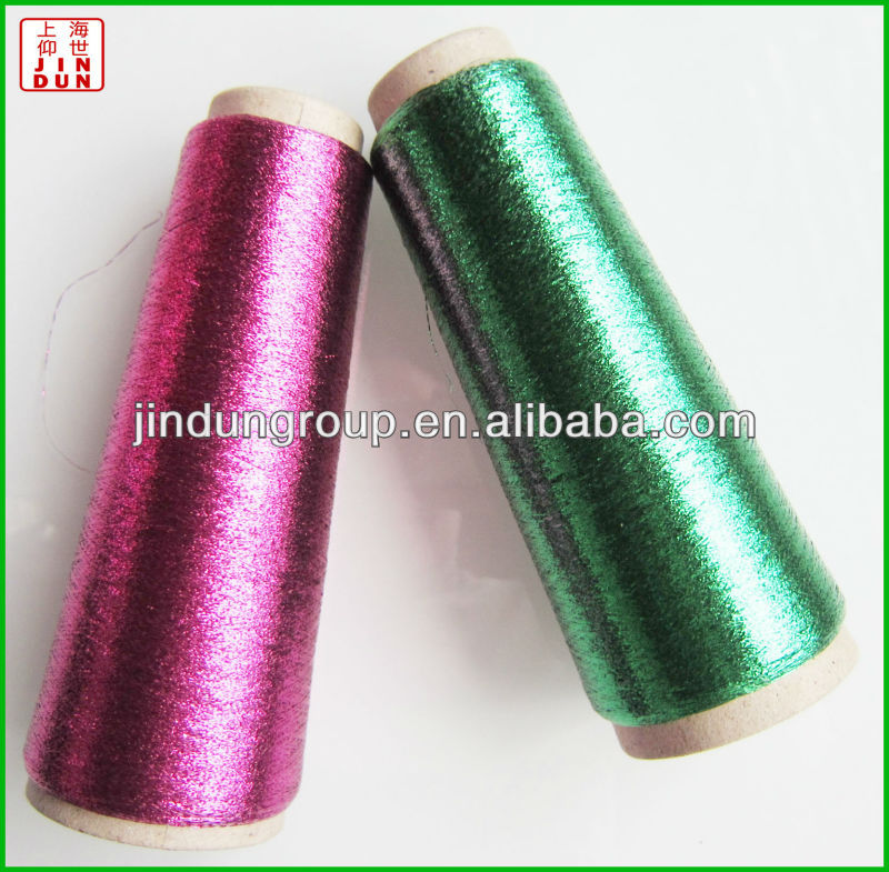 MX type metallic yarn with copper