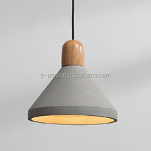 CE Rohs Chinese Supplier Modern Ancient Light Concrete Pendant Lamps Vintage Cement Hanging Light