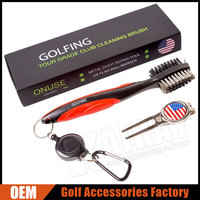 Golf Club Cleaning Brush Cleaner Tools