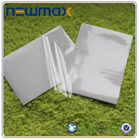 transparent PVC film/ white printing vinyl roll