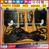 Wholesale H1/H3/H7/H4-3/9005/9006/9007 HID lamp AC 100 watt hid xenon kit