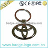 high quality unique metal car logo keychain for car