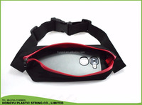 Chinese red sports fanny waist bag