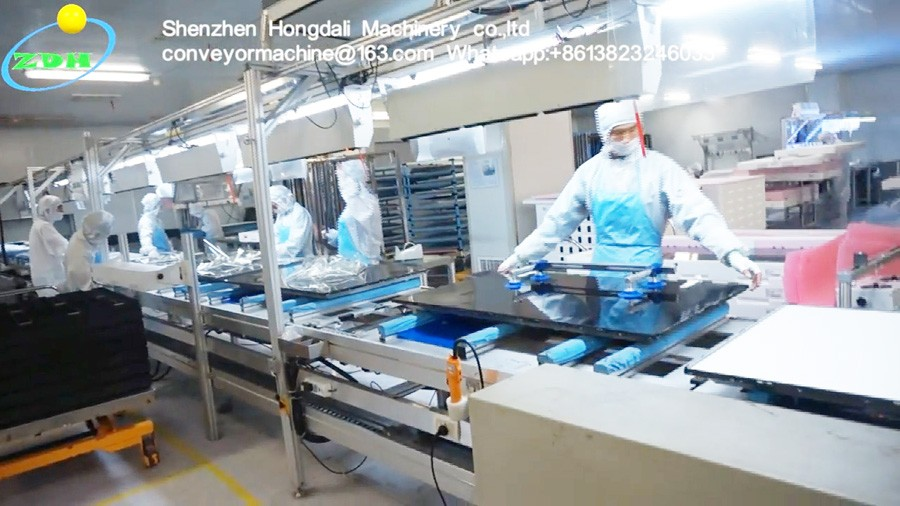 automatic tv assembly line electronic production line