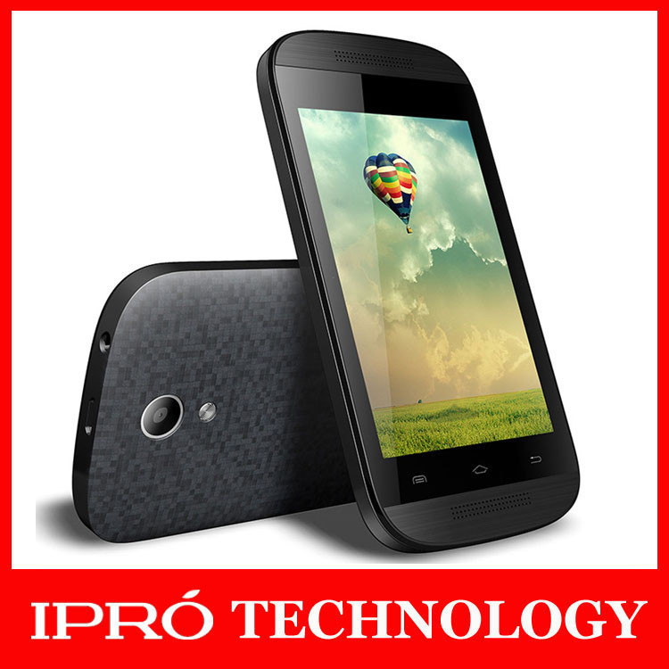 IPRO New Unlocked Dropship Android 4.4 Dual Core Cellular 3.5 inch Dual SIM 256RAM Mobile Phone