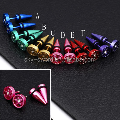 New Arrival Stainless Steel Vibrating Body Jewelry