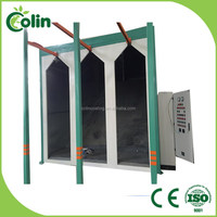 China supplier newly design industrial induction drying powder coating oven