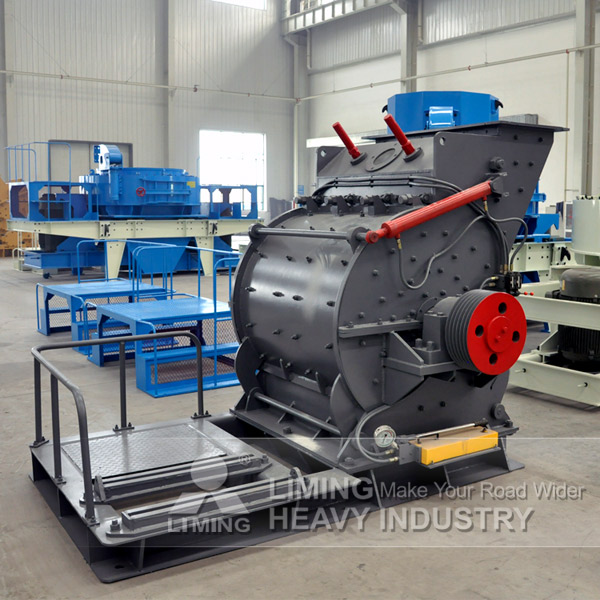 dust suppression system hammer crusher