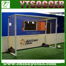 2016 china new high quality aluminum indoor football goal net