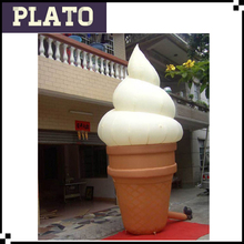 New designed inflatable ice cream model,giant ice cream for sale,ice cream 3d model