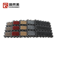 Interlocked PVC door mat widely used in vary kinds of entrance area of big restaurants