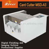 100pcs/1.5min A3 electric business name card cutter machine