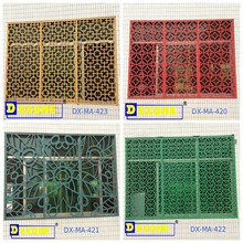Aluminum carved perforated metal window screen /decorative exterior metal wall panel/room partition
