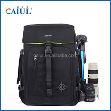 professional waterproof camera lens backpack canvas shoulder bag