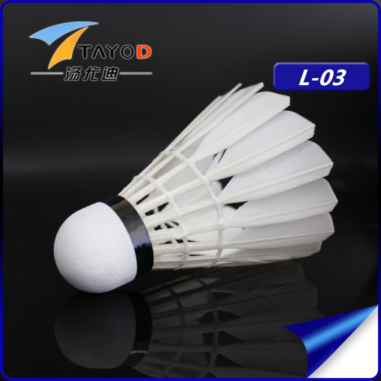 wholesale good quality cigu duck single side shuttlecock for training
