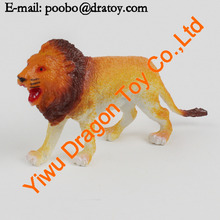 Realistic plastic toy lion king