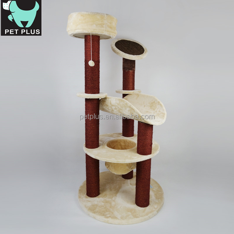 2015 New Pet Products Large Climbing Cat Tree House