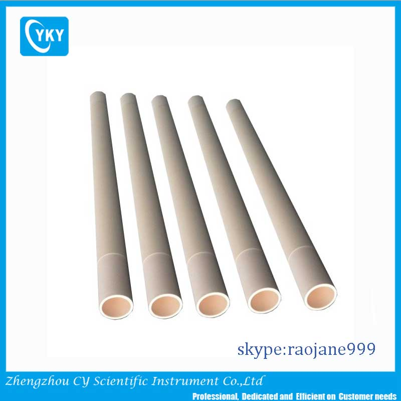 Refractory zirconia ceramic tubes for sintering furnace