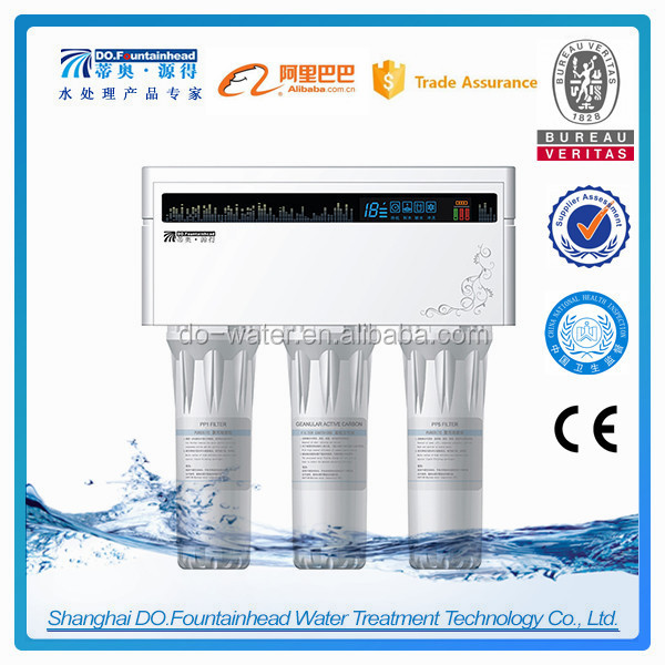 Plastic Housing Material Reverse Osmosis water filter system