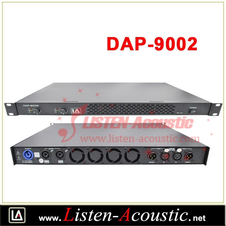 DAP Series Professional 1U Amplifier 9002