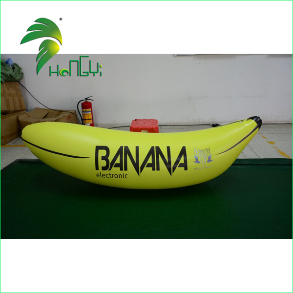 Custom Made Advertising Shapes, Flashing LED Air Inflatable Banana Shaped Balloons for Party