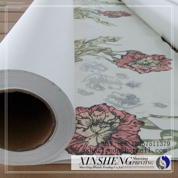 sublimation digital heat transfer printing paper for textile fabric textile printing factory