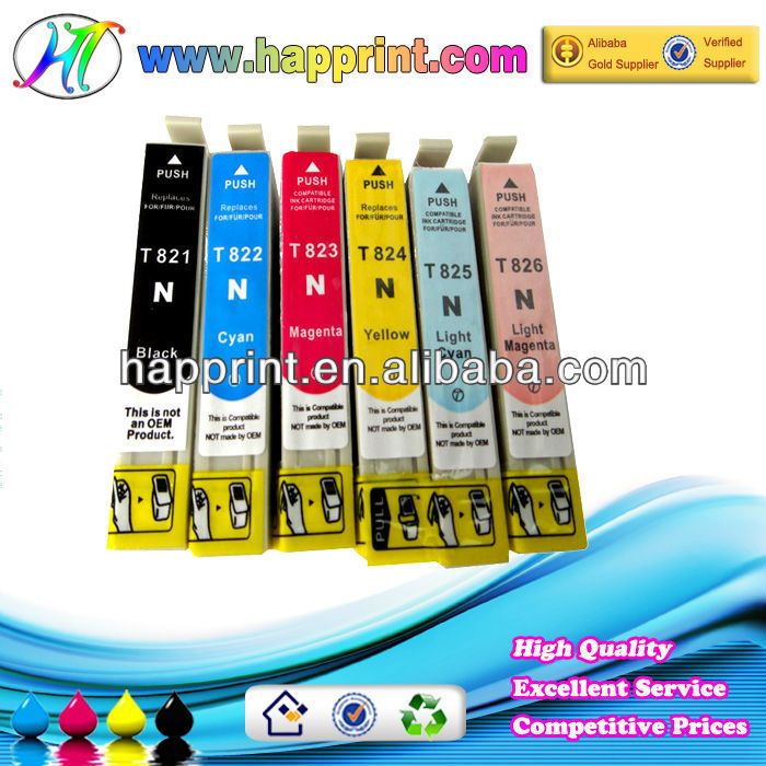 Ink cartridge for epson 1390 1400 C110 C120