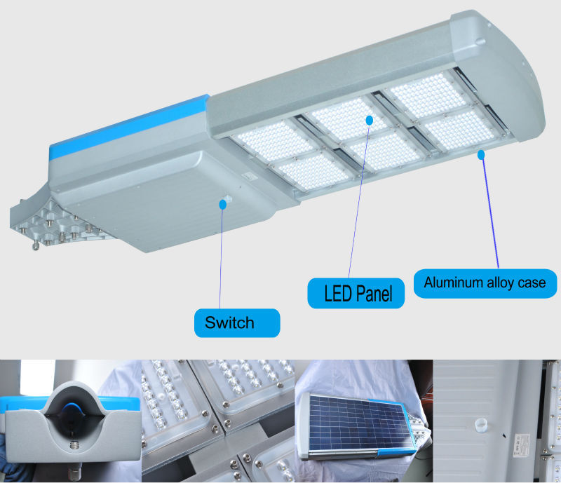 Hot Sale 6m Pole 40w Integrated Led Solar Street Light Price List For Outdoor