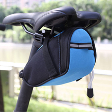 Outdoor Bike Bicycle Cycling Saddle Bag Tail Rear Pouch Seat Storage