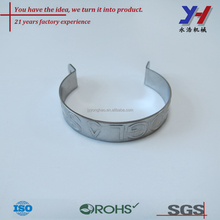 custom made sheet metal fabrication precision metal stamping hinge for round pipes