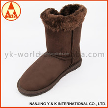 High quality professional cheap women snow winter camo boots
